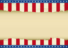 American horizontal background Royalty Free Stock Image