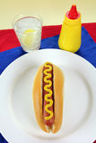 American Hot Dog Royalty Free Stock Photography