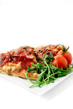 American Hot Pizza Royalty Free Stock Photography