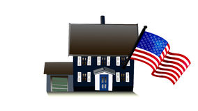 American house Royalty Free Stock Photography