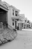 American houses neighborhood Royalty Free Stock Photo