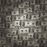 American hundred dollar bills Royalty Free Stock Image