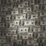 American hundred dollar bills Royalty Free Stock Image