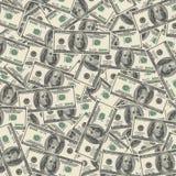 American hundred dollar bills Royalty Free Stock Images