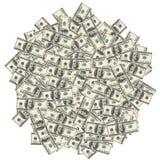 American hundred dollar bills Stock Images