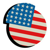 American icon Royalty Free Stock Images