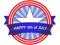 American icon Fourth of July Royalty Free Stock Photos