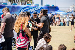 American Idol Auditions Royalty Free Stock Image