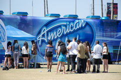 American Idol-Hörproben lizenzfreie stockfotos