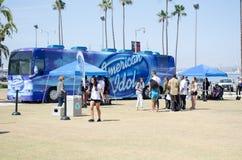 American Idol przesłuchania Fotografia Royalty Free