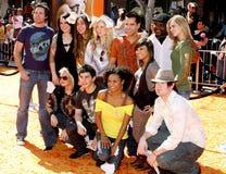 American Idol wierzchołek 12, 2008 - Zdjęcie Royalty Free