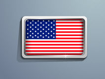 American Independence Day background or concept.. Stock Photography