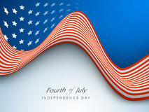 American Independence Day background or concept.. Royalty Free Stock Photo