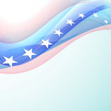 American Independence Day background or concept.. Royalty Free Stock Photography
