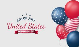 Free American Independence Day Background. Fourth Of July Stock Image - 188783641