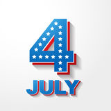 American independence day background Stock Photo