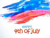 American Independence Day celebration background. Creative American National Flag color background for 4th of July, Independence Day celebration, can be used as vector illustration
