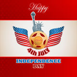 American Independence day, celebration Stock Photography
