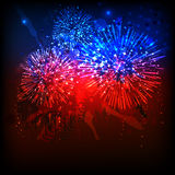 American Independence Day celebration. Royalty Free Stock Photo