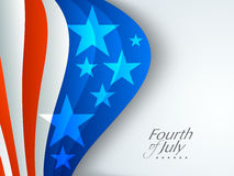 American Independence Day concept. Stock Photos