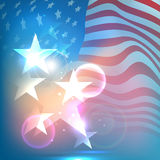 American Independence Day concept. Royalty Free Stock Image