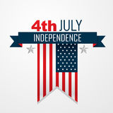 American independence day design Royalty Free Stock Photography
