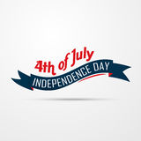 American independence day design Royalty Free Stock Photo