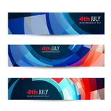 American independence day header Royalty Free Stock Photography