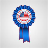 American Independence Day. Holiday badge. EPS 10 Royalty Free Stock Images