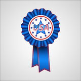 American Independence Day. Holiday badge. EPS 10 Stock Images