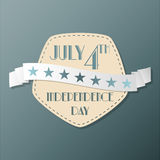 American Independence Day illustration Royalty Free Stock Images