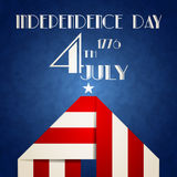 American Independence Day illustration Stock Image