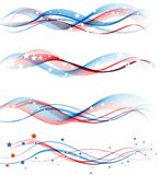 American Independence Day  Patriotic background Stock Image