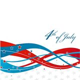 American Independence Day  Patriotic background Royalty Free Stock Photos