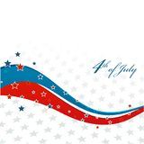 American Independence Day  Patriotic background Stock Photos