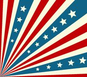 American Independence Day  Patriotic background Stock Images