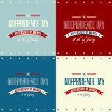 American Independence Day  Patriotic background Royalty Free Stock Images