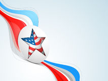American Independence Day sticker or tag. Royalty Free Stock Image