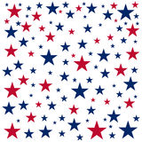 American Independence Day. 4th July. Template background for greeting cards, posters, leaflets and brochure. Vector illustration. Royalty Free Stock Photos