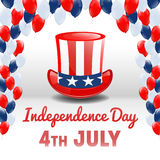 American Independence Day. 4th of July USA Holiday Background Royalty Free Stock Images