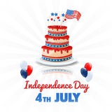 American Independence Day. 4th of July USA Holiday Background Royalty Free Stock Photography