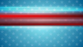 American Independence Day video animation stock video