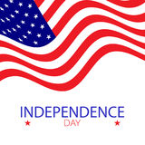 American independence 4th of july Royalty Free Stock Image