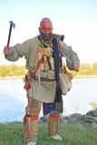 American indian attacking Stock Photos