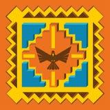 American indian bird scarf Royalty Free Stock Image