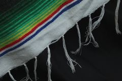 American Indian Blanket Tassels royalty free stock images