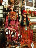 American Indian Dolls stock images