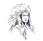 American  indian Royalty Free Stock Photo