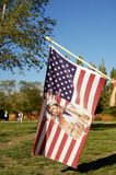 American Indian flag Stock Photo