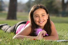 American Indian Girl Stock Photos
